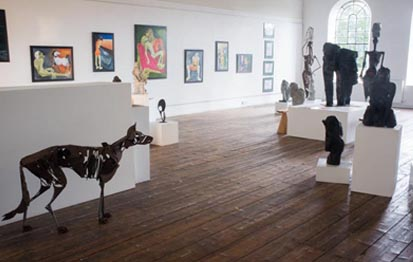 Greta Berlin Exhibition - Bridport Art Centre